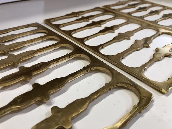 【3枚セット】真鍮板 打抜端材  厚さ3mm 真鍮プレート 黄銅板 工作 アクセサリー【スマートレター発送 180円】_画像2