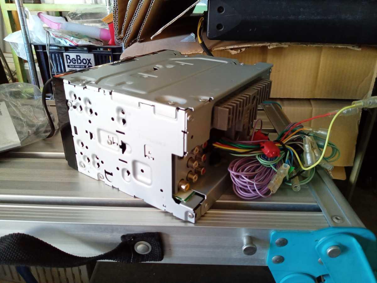 カロッツェリア carrozzeria FH-780DVD 6.1V型ワイドVGAモニター DVD-V VCD CD USB チューナーメインユニット ジャンク 未記入保証書付_画像2