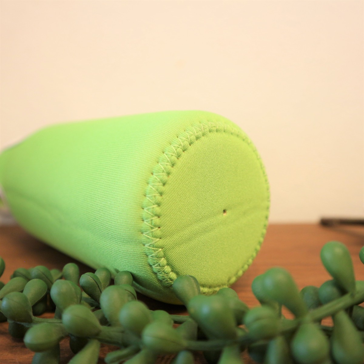 ★水筒カバー★~400ml ショルダー 手提げ 2way  水筒ケース 黄緑色