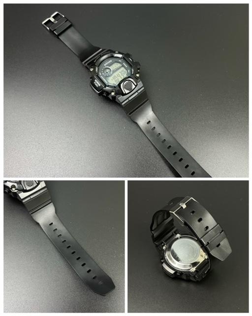 スポーツ腕時計 腕時計 時計 デジタル式 LED デジタル腕時計 デジタル 自転車 スポーツ アウトドア キャンプ ブラック  22_画像5