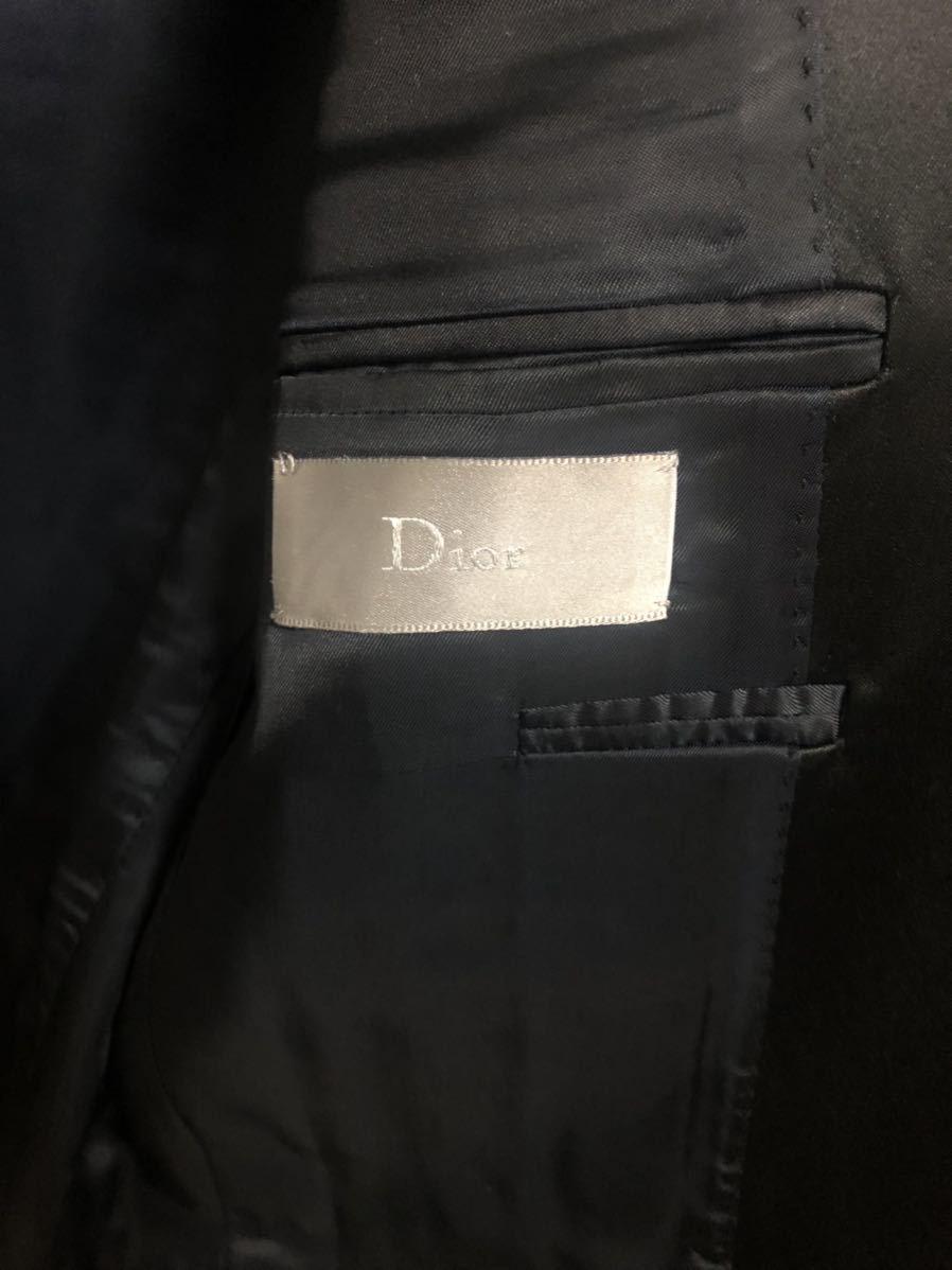 Dior Homme ディオールオム 44【定価総額60万超】スモーキングJK PT ジレ スーツ セットアップ_画像4