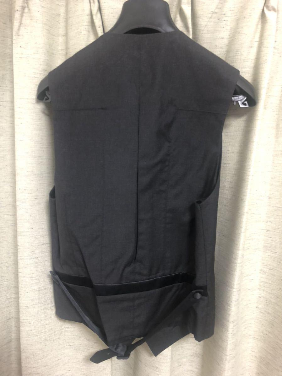 Dior Homme ディオールオム 44【定価総額60万超】スモーキングJK PT ジレ スーツ セットアップ_画像9