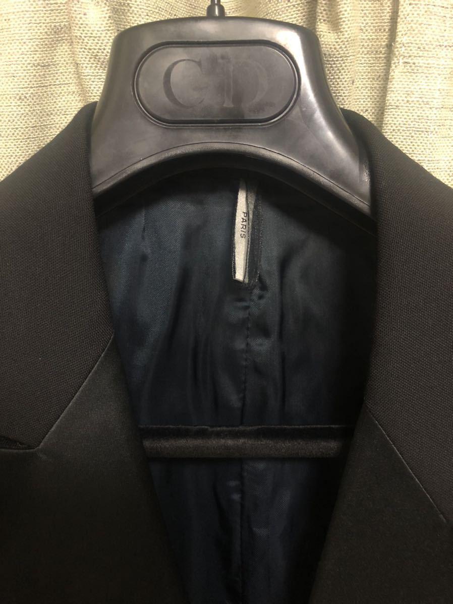 Dior Homme ディオールオム 44【定価総額60万超】スモーキングJK PT ジレ スーツ セットアップ_画像3