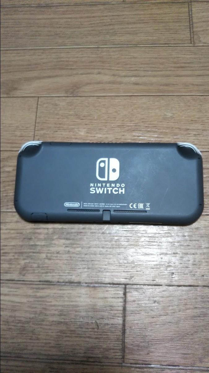 Nintendo Switch Lite グレー ニンテンドースイッチ ライト HDH-S-GAZAA