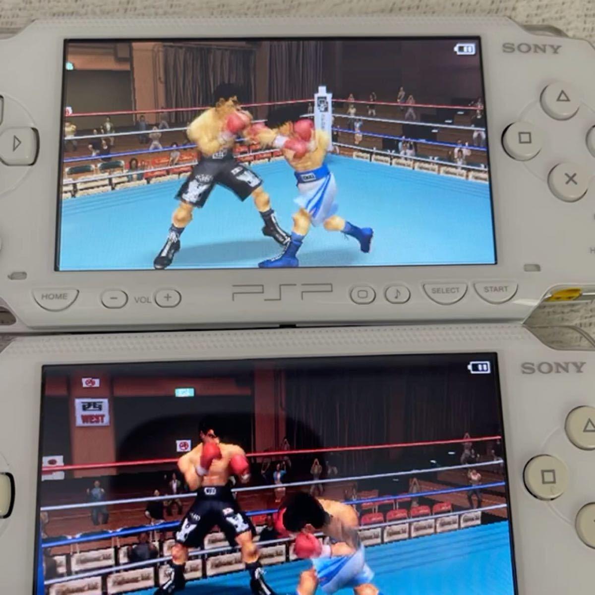 美品 PSP 1000 本体 ips液晶カスタム済み メモリースティックデュオ 16GB 付属
