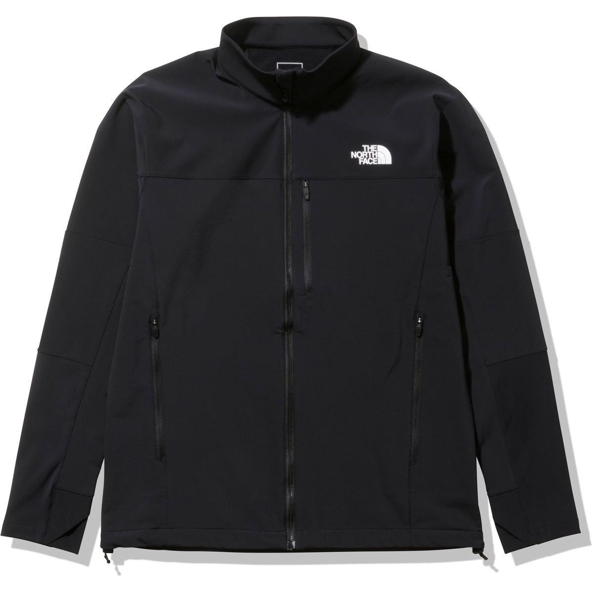 THE NORTH FACE ザノースフェイス ソフトシェルジャケット マクルアウールジャケット ブラック(黒) メンズS 新品