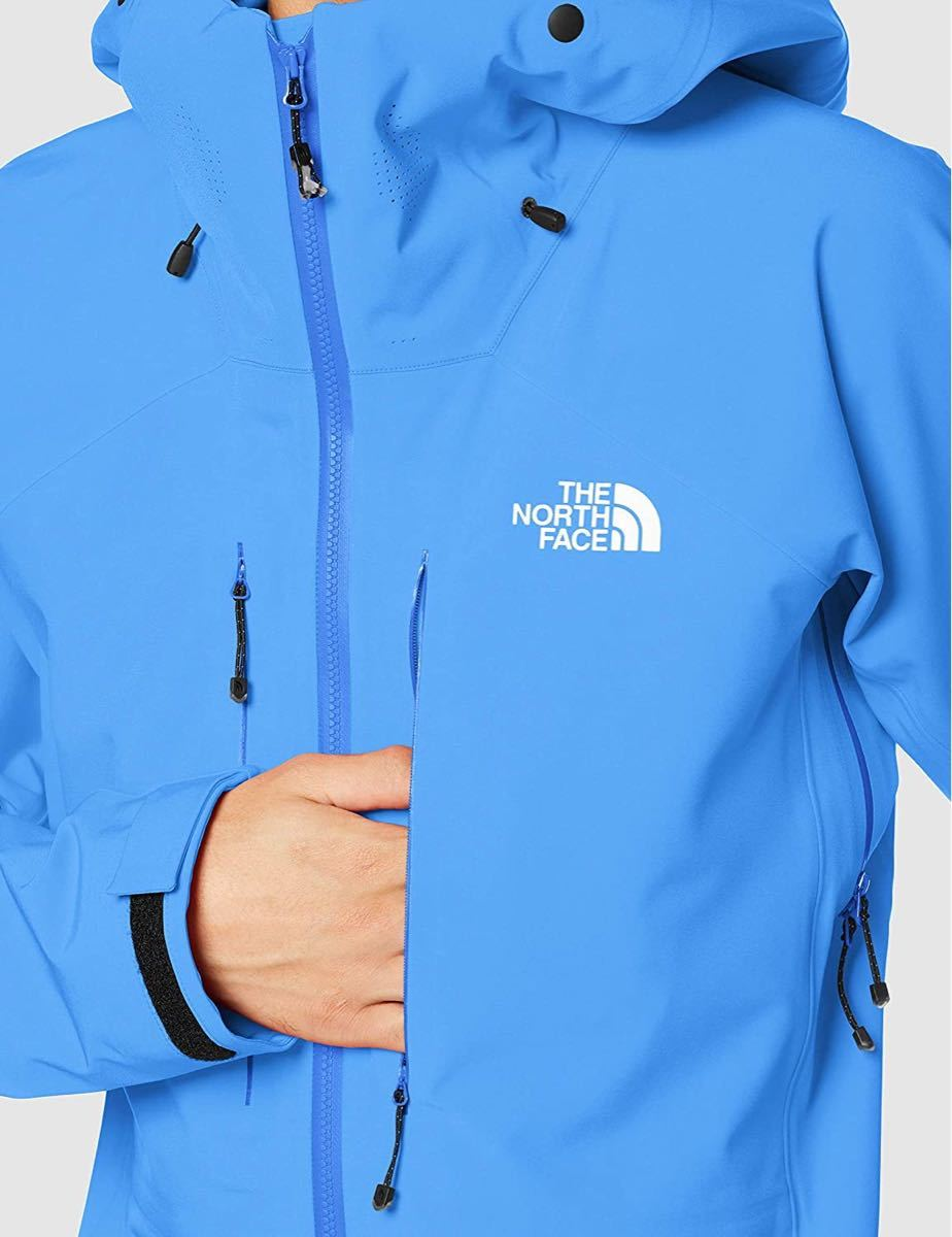 THE NORTH FACE ザノースフェイス 防水ソフトシェルジャケット アイアンマスクジャケット ブルー ユニセックスL 新品