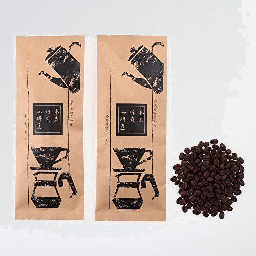 新品 好評 コ-ヒ-豆 おいしい D-4Z (豆のまま) 本物の珈琲の香りをご体験ください 飲み比べ 木炭焙煎 珈琲豆 モカ と 特上_画像1