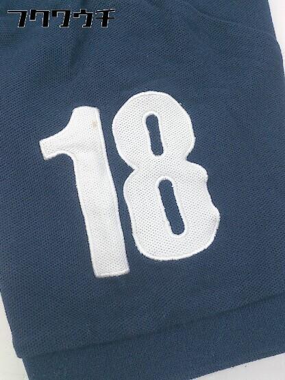 ◇ le coq sportif ルコックスポルティフ 半袖 ポロシャツ サイズL ネイビー メンズ_画像8