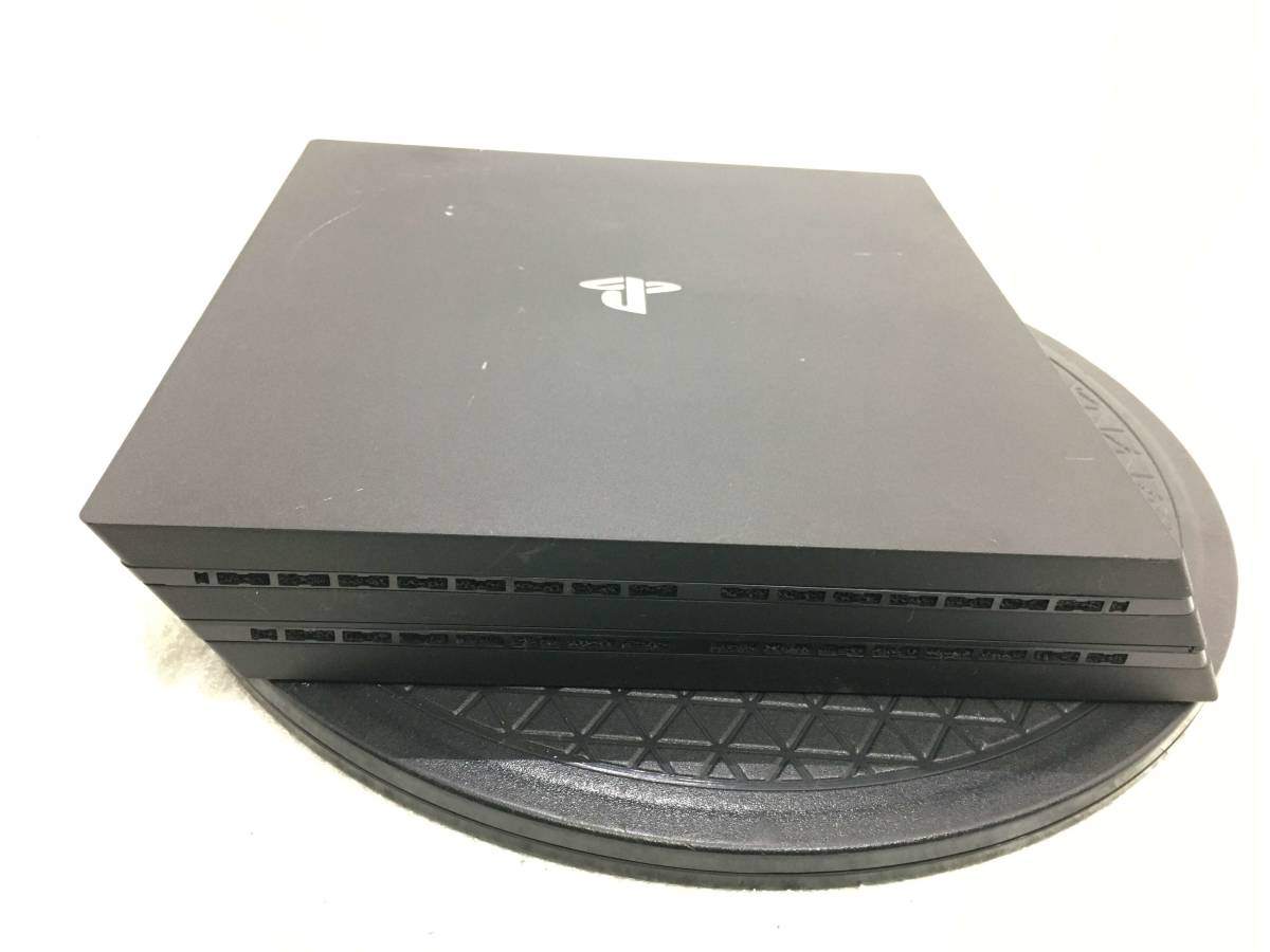 3627 SONY PS4 プレイステーション4 pro ジェットブラック CUH-7100B 1TB