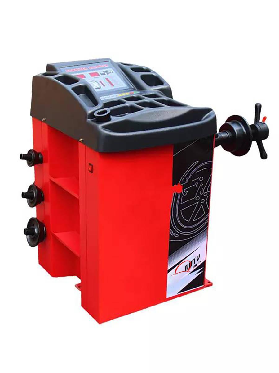 ■最新ホイールバランサー 24インチ対応 100V仕様  側面に収納棚付き 安心の保証1年付き