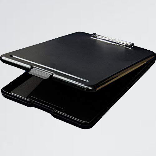 新品 未使用 クリップボ-ド REX-OWL 2-BC SKB-01 (ブラック) A4 バインダ- 書類の収納ができる クリップファイル_画像1