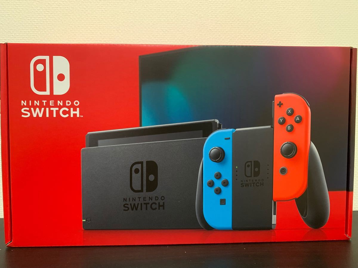 Nintendo Switch ニンテンドースイッチ 任天堂 ネオンブルー/ネオンレッド Joy-Con 本体 新品 未開封