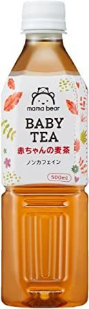 Mama Bear 赤ちゃんの麦茶 ノンカフェイン 500ml×24本_画像4