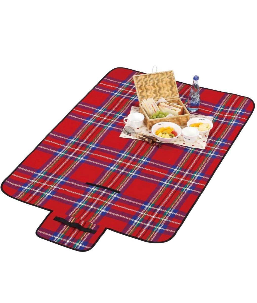 【新品未使用】PICNIC MAT ピクニックマット レジャーシート Lサイズ 防水 運動会 折り畳み 携帯 洗える 折りたたみ式