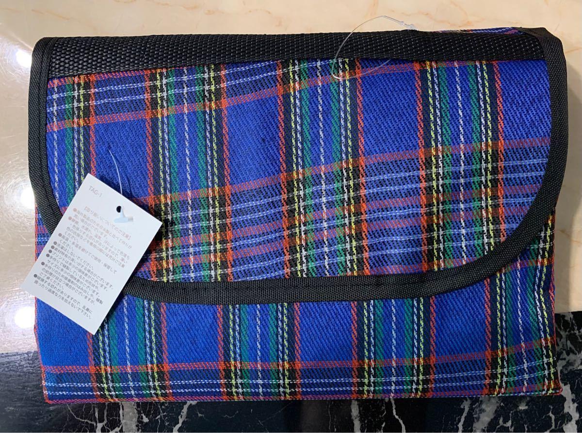 【新品未使用】PICNIC MAT ピクニックマット レジャーシート Lサイズ 洗える 携帯 折り畳み 運動会 防水 折りたたみ式