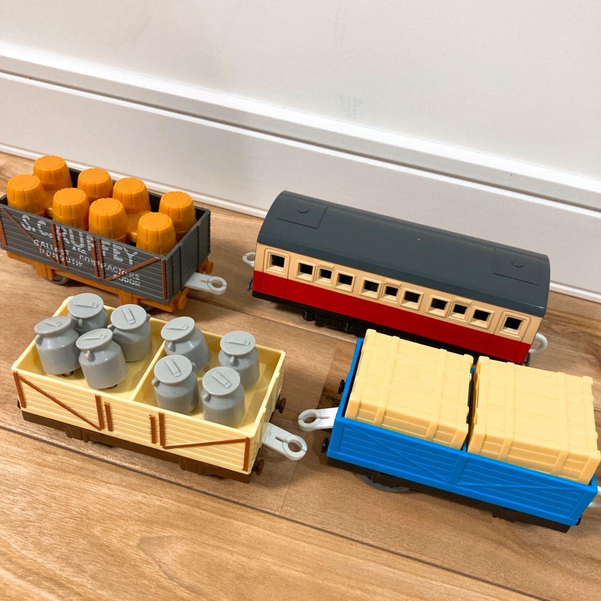 プラレール きかんしゃトーマス トーマスといっぱい貨車セット ※外箱と既製品のレールはつきません