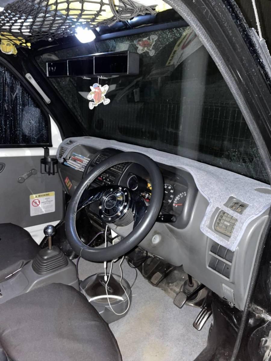 「キャリー DB52 DA52 4WDターボ!オールペン!リフトアップ車両!アゲトラ!リフトアップ!車検取り立て!走行少ない!タイベル交換済!」の画像3