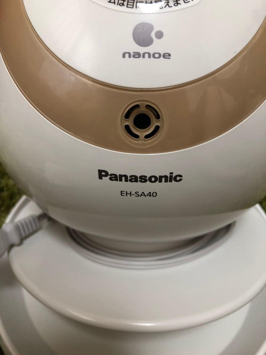 Panasonic ナイトスチーマー ナノケア EH-SA40