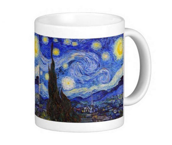 ゴッホ『 星月夜 』のマグカップ_ゴッホの傑作「星月夜」(Starry Night)