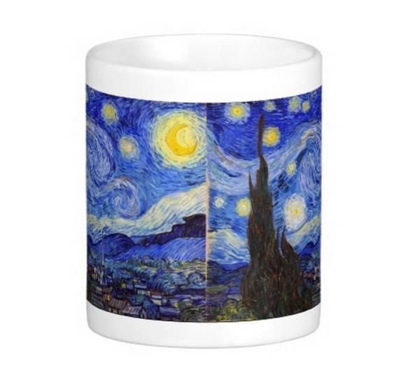 ゴッホ『 星月夜 』のマグカップ_同じ写真が2点、入ります
