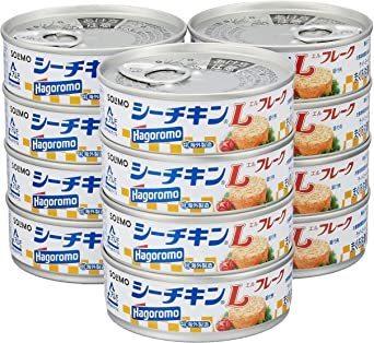新品70g×12缶 [Amazonブランド] SOLIMO シーチキン Lフレーク 70g×12缶W72O_画像1