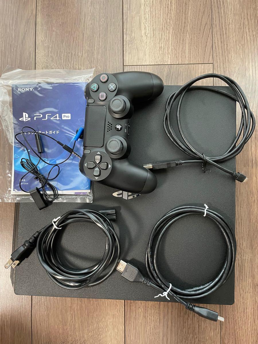 PS4 pro 本体 CUHー7200B 1TB