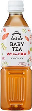 新品セール★Mama Bear 赤ちゃんの麦茶 ノンカフェイン 500ml×24本WAJC_画像1