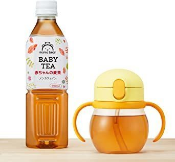 新品セール★Mama Bear 赤ちゃんの麦茶 ノンカフェイン 500ml×24本WAJC_画像5