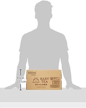 新品セール★Mama Bear 赤ちゃんの麦茶 ノンカフェイン 500ml×24本WAJC_画像6