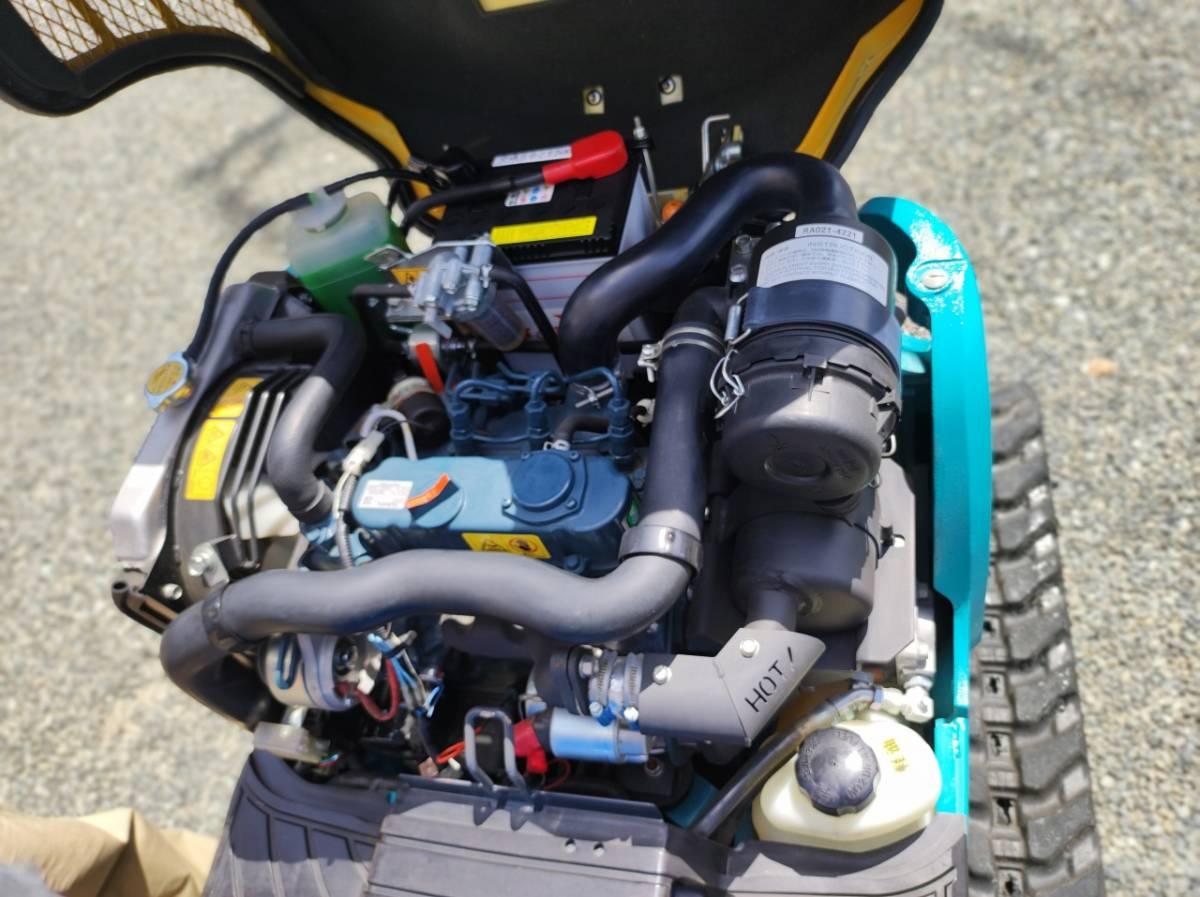 「【超美品・使用時間約69時間】クボタ ユンボ U-10-3 個人出品です。現物確認OK 新車時に近いクオリティー」の画像3