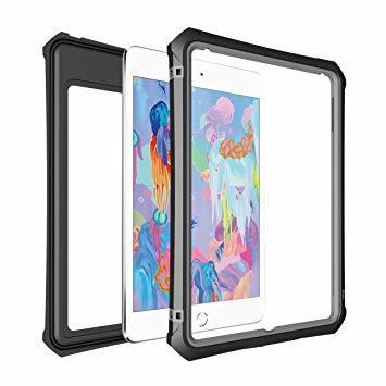 7.9インチ iPad mini5 防水ケース アイパッド mini5 防水カバー タブッレト耐衝撃 IP68防水規格 米軍MI_画像2