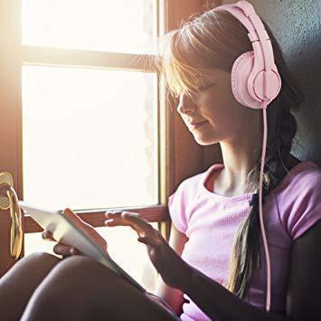 新品ピンク BlueFire PS4ゲーミング ヘッドセット 高音質 重低音ヘッドフォン 臨場感満ち 高集音性マXCLI_画像2