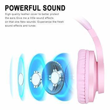 新品ピンク BlueFire PS4ゲーミング ヘッドセット 高音質 重低音ヘッドフォン 臨場感満ち 高集音性マXCLI_画像4