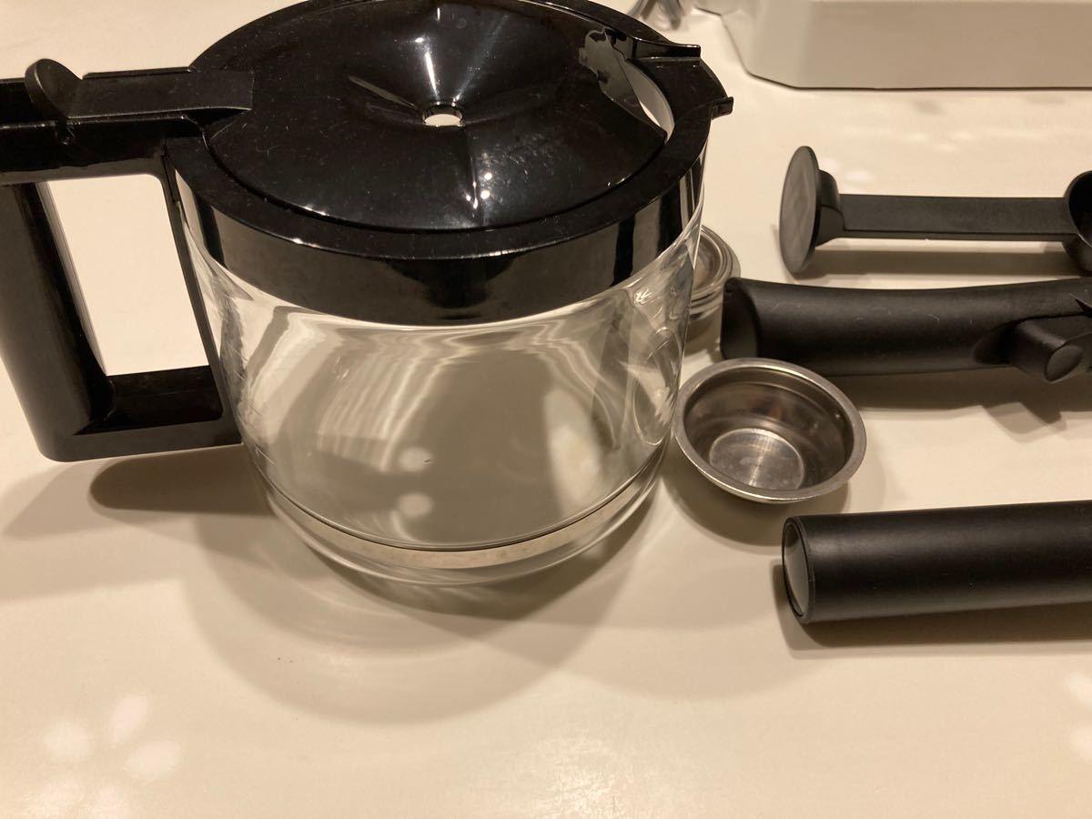 デロンギ コーヒー エスプレッソメーカー BC0410J-W