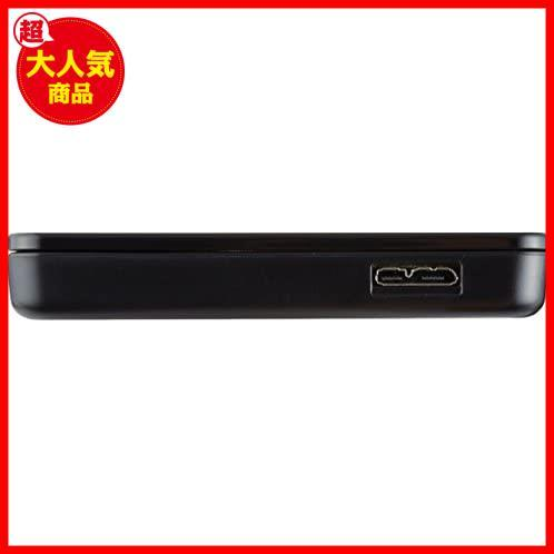 玄人志向 SSD/HDDケース(ブラック) 2.5型 USB3.0接続 ACアダプター不要/ネジ止め不要/3ステップの簡単組立 GW2.5TL-U3/BK_画像2