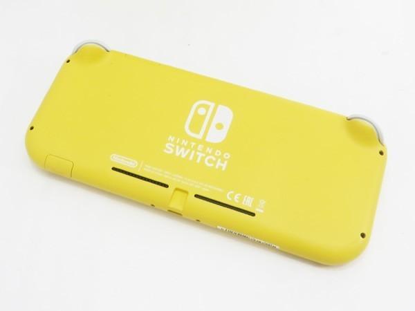 ○【任天堂】Nintendo Switch Lite/ニンテンドースイッチライト本体 HDH-S-YAZAA イエロー_画像2