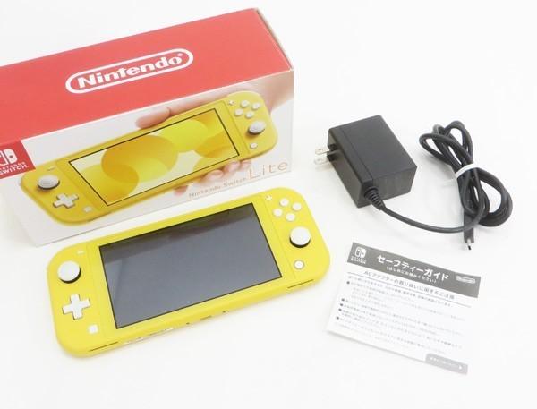 ○【任天堂】Nintendo Switch Lite/ニンテンドースイッチライト本体 HDH-S-YAZAA イエロー_画像6