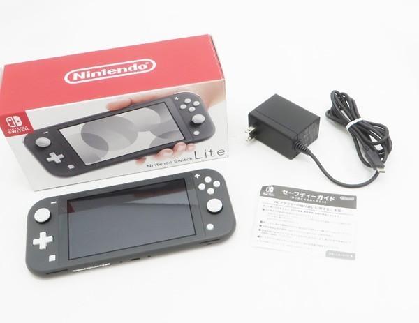 ○【任天堂】Nintendo Switch Lite/ニンテンドースイッチライト本体 HDH-S-GAZAA グレー_画像6