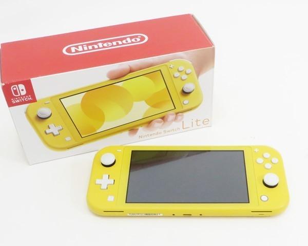 ○【任天堂】Nintendo Switch Lite/ニンテンドースイッチライト本体 HDH-S-YAZAA イエロー_画像1