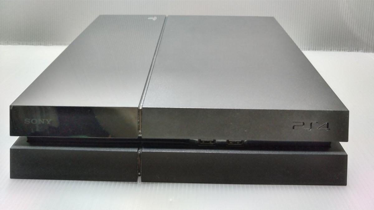 PS4本体 500GB ジェットブラック
