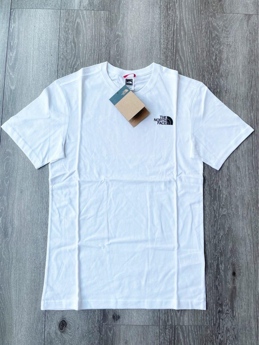 ザ ノースフェイス Tシャツ レッドボックス Tシャツ 半袖 ホワイト新品 XS THE NORTH FACE  男女兼用US正規