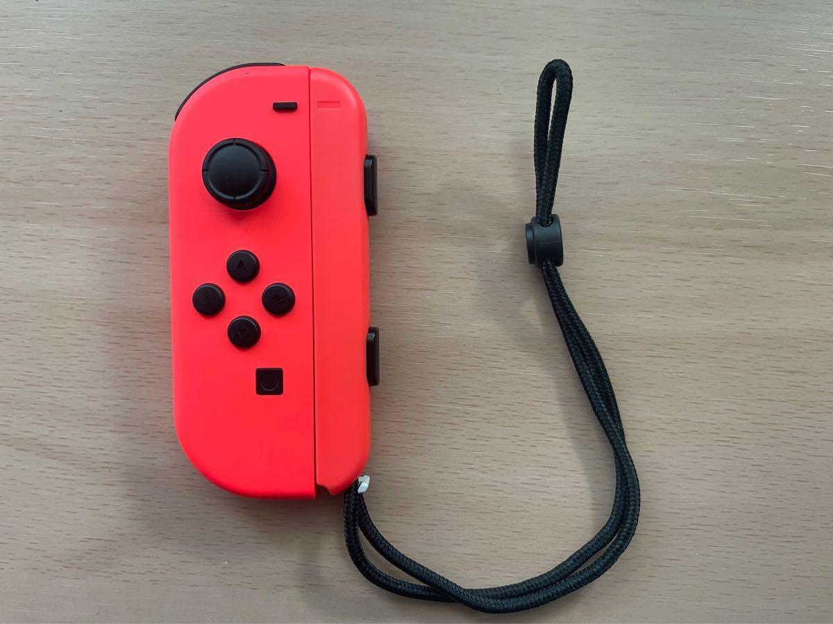 Nintendo Switch Joy-Con ジョイコンL ネオンレッド 任天堂スイッチ