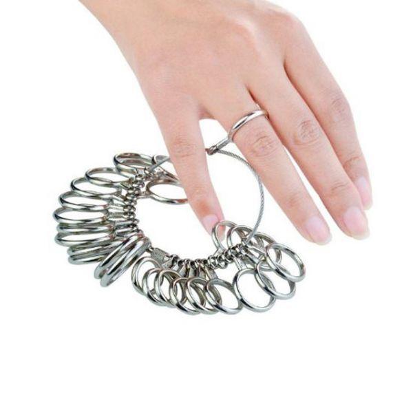 リングゲージ 指輪サイズ 指サイズ 指輪 指輪 測定 計測 指輪ゲージ 計り_画像2