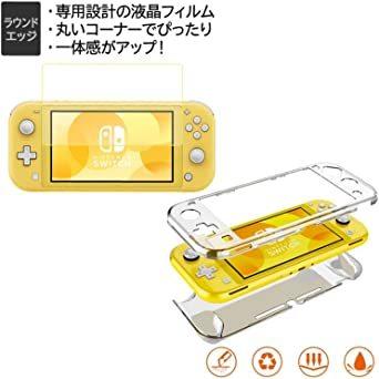 最新 Nintendo Switch Lite ケース 任天堂スイッチ専用収納 どうぶつの森 ケース ニンテンドースイッチ カバ_画像6
