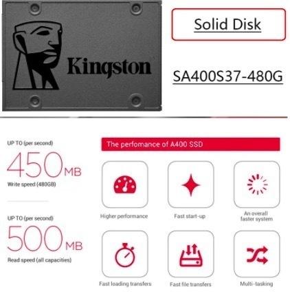 【最安値】SSD Kingston A400 240GB SATA3 6.0Gbps 新品 高速 3D NAND TLC 内蔵 2.5インチ_画像4