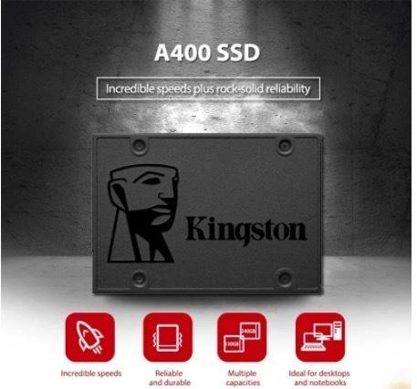 【最安値】SSD Kingston A400 240GB SATA3 6.0Gbps 新品 高速 3D NAND TLC 内蔵 2.5インチ_画像2