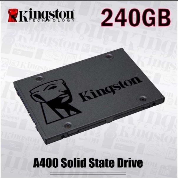 【最安値】SSD Kingston A400 240GB SATA3 6.0Gbps 新品 高速 3D NAND TLC 内蔵 2.5インチ_画像1
