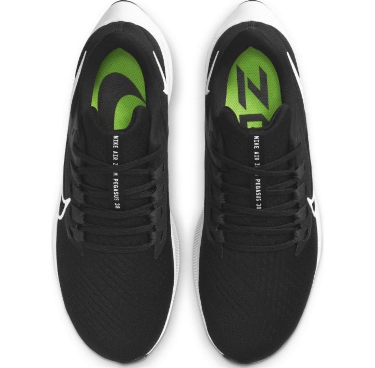 新品正規品 ナイキ ランニングシューズ メンズ エア ズーム ペガサス 38 CW7356-002 NIKE ブラック26.5cm