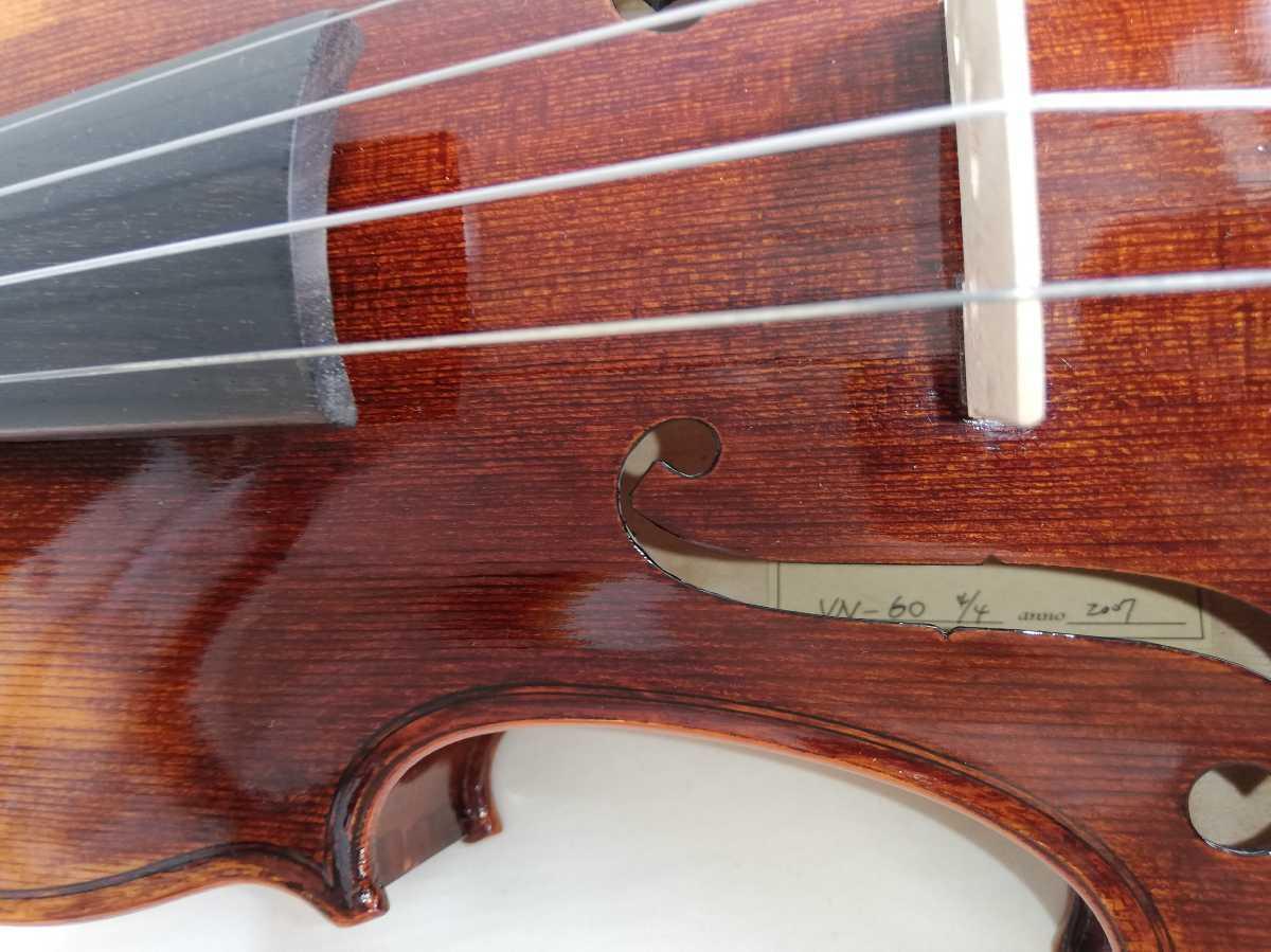 【美品】バイオリンパレット★Valente VN-60 4/4 anno2007_画像6